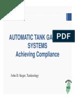 Auto Tank Gauging