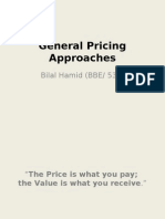 General Pricing Approaches Final (by Bilal)