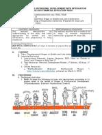 LP16 SHS Personal Development