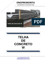 Telha de Concreto w