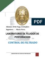 Laboratorio de Fluidos de Perforacion