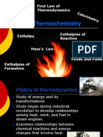thermochemistry or junior intermideate