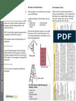 OSHA 10 Fact Sheet - Ladder Safety
