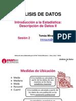 Análisis de datos-Sesión02