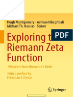 Exploring the Riemann Zeta Function