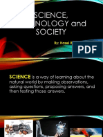 Science, Technology and Society Introduction