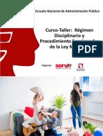 Regimen Disciplinario y Procedimiento Sancionador- Huancavelica
