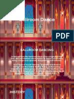 Ballroom Dance Reporting