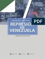 Reporte Agosto 2019
