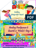 Araling Panlipunan 6 q2 w6 Day 1