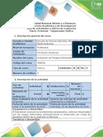 Guía Actividades y Rúbrica de Evaluación - Paso 1 - Informar Organizador Gráfico