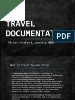 Travel Documentation Slides