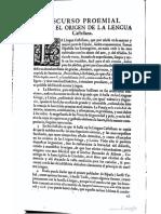 Discurso proemial Covarrubias