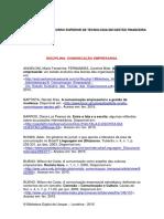 Referencias Para Comunicação Empresarial