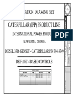 PROJECT CAT IPP2-Diesel, Production Drawings