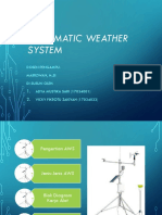Automatic Weather System Ppt