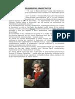 Biografia Ludwig Van Beethoven
