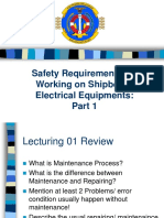 Safety Requirement in Marine Engineering
