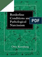 (the Master Work Series) Otto F. Kernberg - Borderline Conditions and Pathological Narcissism-Jason Aronson, Inc. (2000)