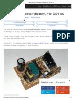 Mobile Charger Circuit Diagram, 100-220V AC – Circuits DIY