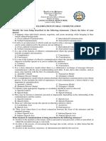 New-1st PT-Oral Com (DSL)