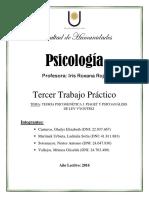 TP N° 5 - TEORIA PSICOGENETICA DE PIAGET Y PSICOLOGIA HISTORICO-CULTURAL DE VYGOTSKI