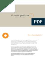 KnowledgeWorkx Corporate Overview