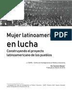 Mujer latinoamericana en lucha.