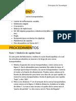 Informe de Principio de Tecnología /la razón de producción/