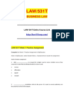 LAW 531 LAW531