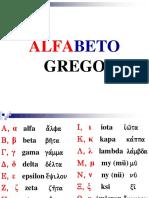 Grego - Arquivo 1 - Alfabeto - Fontes Diferentes (Slides)