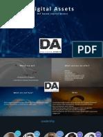DA Exec Presentation Brochure