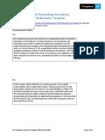 APCSP Written responses