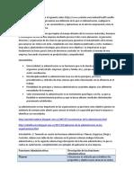 Unidad 2 - Tarea 3 - Fundamentos Administrativo