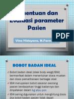 5.  Penentuan dan Evaluasi parameter Pasien.pptx