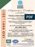 Visaka Industries Limited. (Telangana) - Ias - 9001 (1)