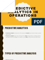 Predictive Analysis on Operations.pptx