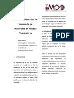 Modelo Matemático de Sistemas de Acarreo