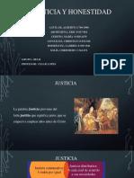 La Justicia y Honestidad