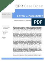 2131 2012 Leven v Kazakhstan