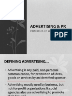 Advertising & PR COPY