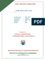Electronic Circuit laboratory MANUAL .pdf