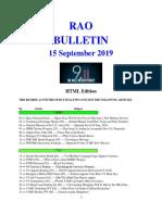 Bulletin 190915 (HTML Edition)