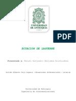 Ecuación de Laguerre_Descripción