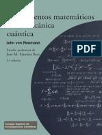 Fundamentos matemáticos de la mecánica cuántica.pdf