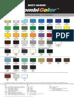 Rus2 Colour Chart