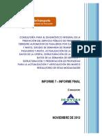 Informe Icovias Transporte Intermunicipal y Mixto