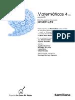 Solucionario - Matemáticas 4ª ESO, Opción B (Santillana).pdf