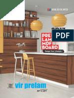Prelaminated Mdf Partical Board