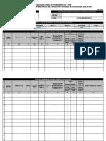 Cronograma de Salida y Asignacion de Aplicadores Por Asistente de Supervisor